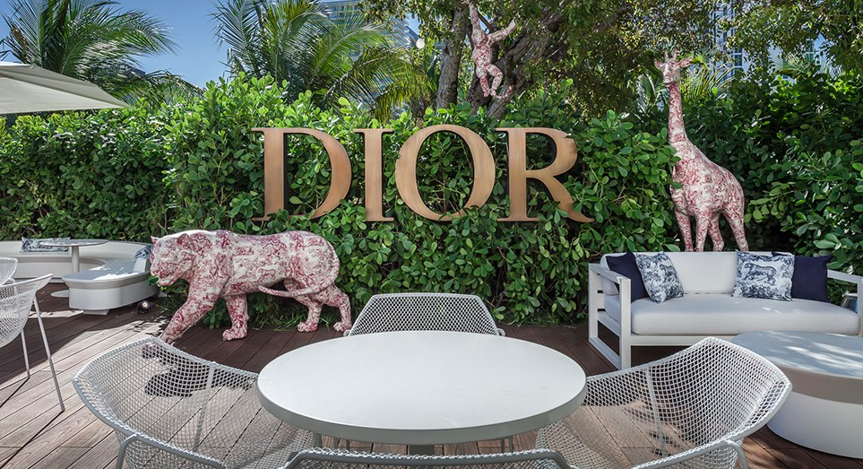 Dior Pop-up Cafe